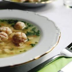 Суп с фрикадельками «пальчики оближешь»