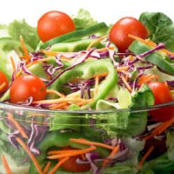 Блог худеющего: история овощного салата