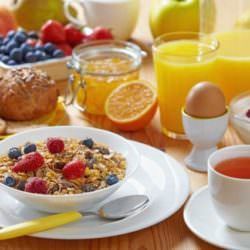 Чтобы быть стройным, нужно завтракать!