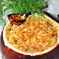 Постное блюдо: солянка грибная