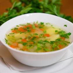 Первое блюдо для худеющих: белковый суп
