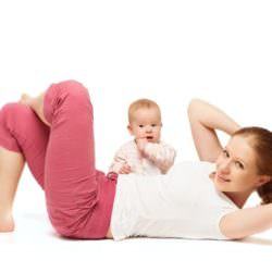 Похудеть после родов — 10 золотых правил